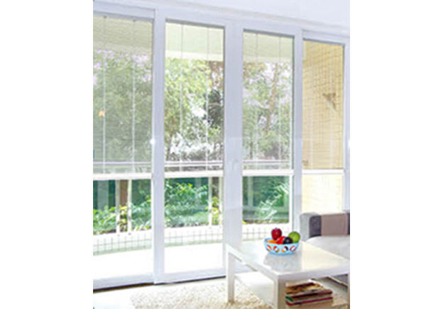 S02 Electronic Control Blinds Closed Together To The Top