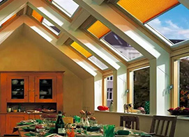 Cellular Shades For The Skylights